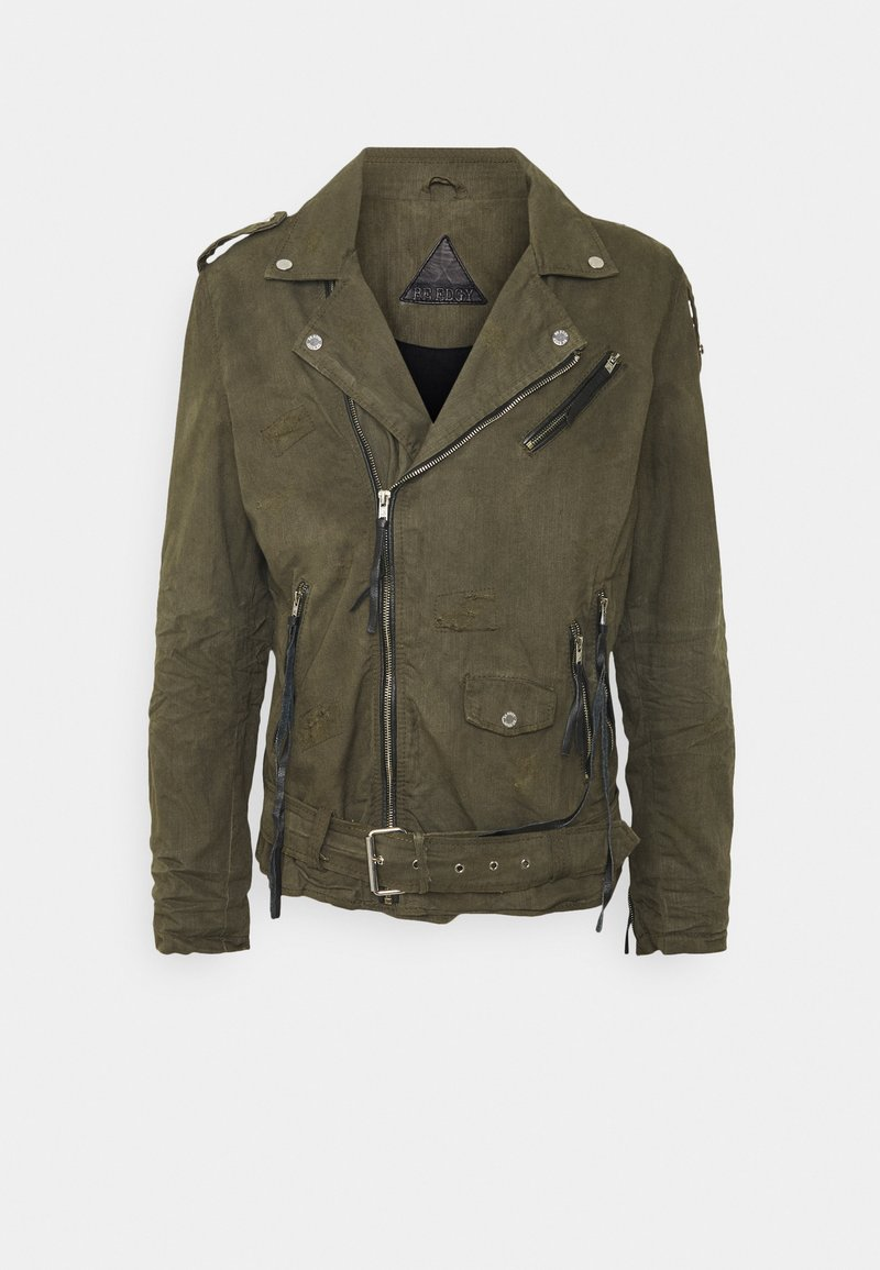 Be Edgy - BECHAIN - Denim jacket - khaki