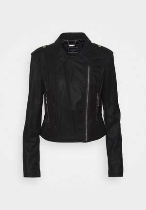 NEW KHLOE JACKET - Giacca in similpelle - jet black