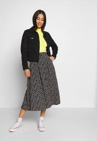 Monki - SIGRID SKIRT - A-line skirt - black/white - 1