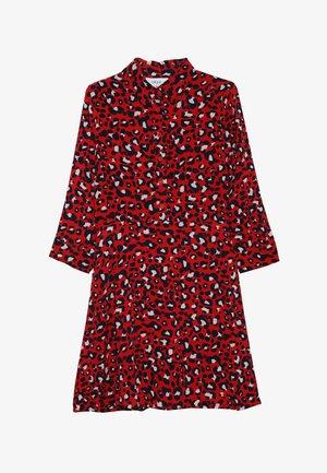 SOLVEJ DRESS - Vestido camisero - happy red