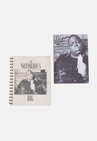 TYPO - CAMPUS & BIG TICKET NOTE BOOK BIGGIE 2 PACK - Other accessories - grey/beige - 0