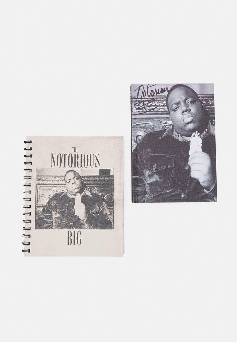 TYPO - CAMPUS & BIG TICKET NOTE BOOK BIGGIE 2 PACK - Other accessories - grey/beige