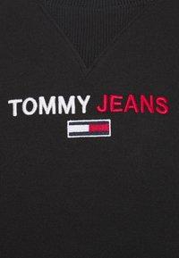 Tommy Jeans - LINEAR LOGO CREW - Sweatshirt - black - 6