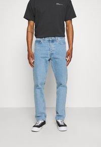 Dr.Denim - DASH - Jeans straight leg - light blue ridge stone - 0