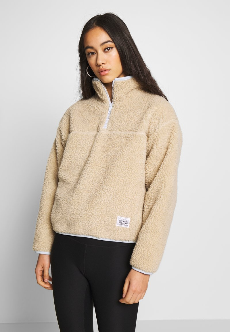Levi's® - SLOANE SHERPA - Sweat polaire - oyster gray