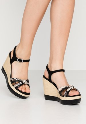 MIRELLA - High heeled sandals - black