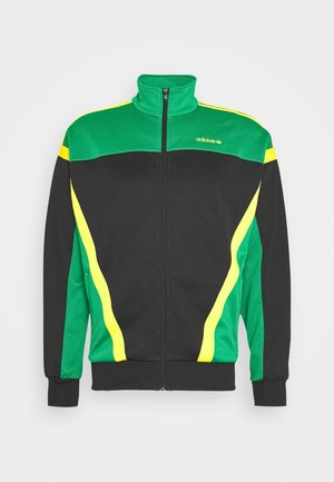 CLASSICS  - Training jacket - black/green