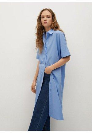 Robe chemise - azul celeste