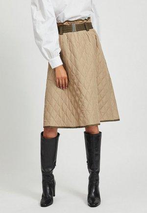 STEPP - A-line skirt - humus