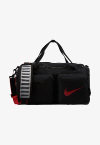 Nike Performance - UTILITY S DUFF - Sports bag - black/track red - 5