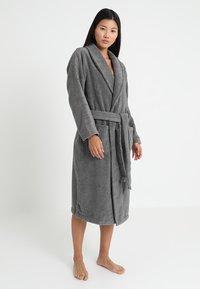 Calvin Klein Underwear - ROBE - Dressing gown - grey - 0