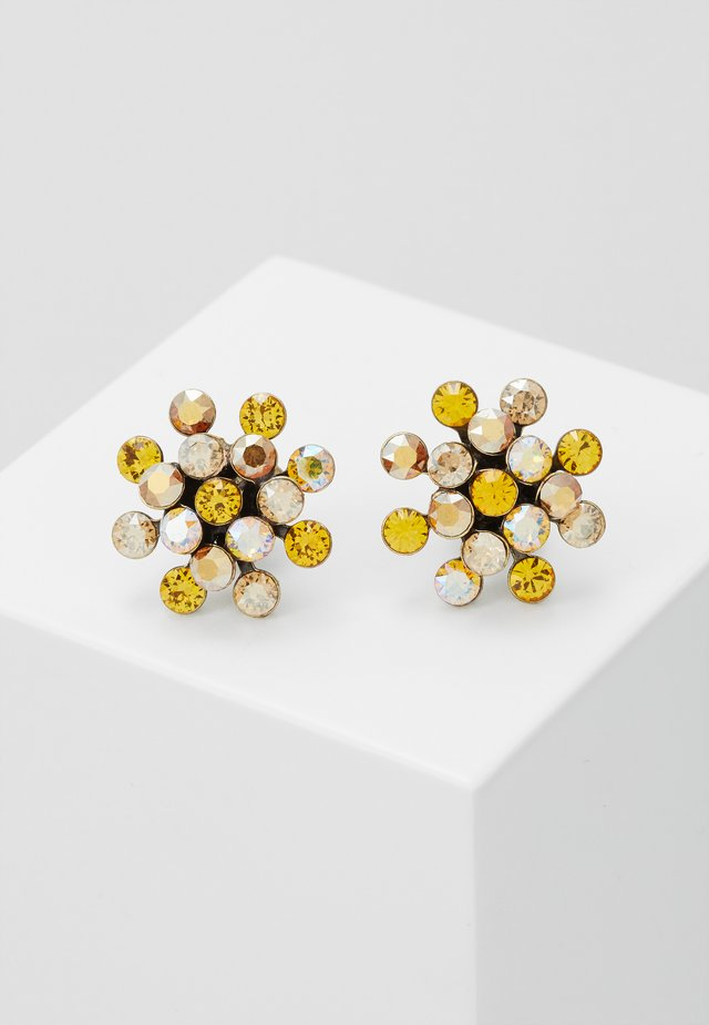 MAGIC FIREBALL - Earrings - yellow