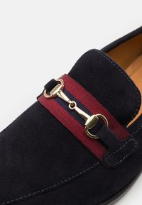 Zign - LEATHER - Mocasines - dark blue - 5