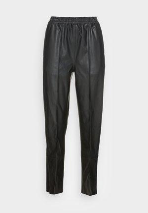 MALENE JOGGERS - Trousers - black