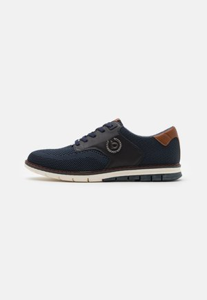 SANDMAN - Casual lace-ups - dark blue
