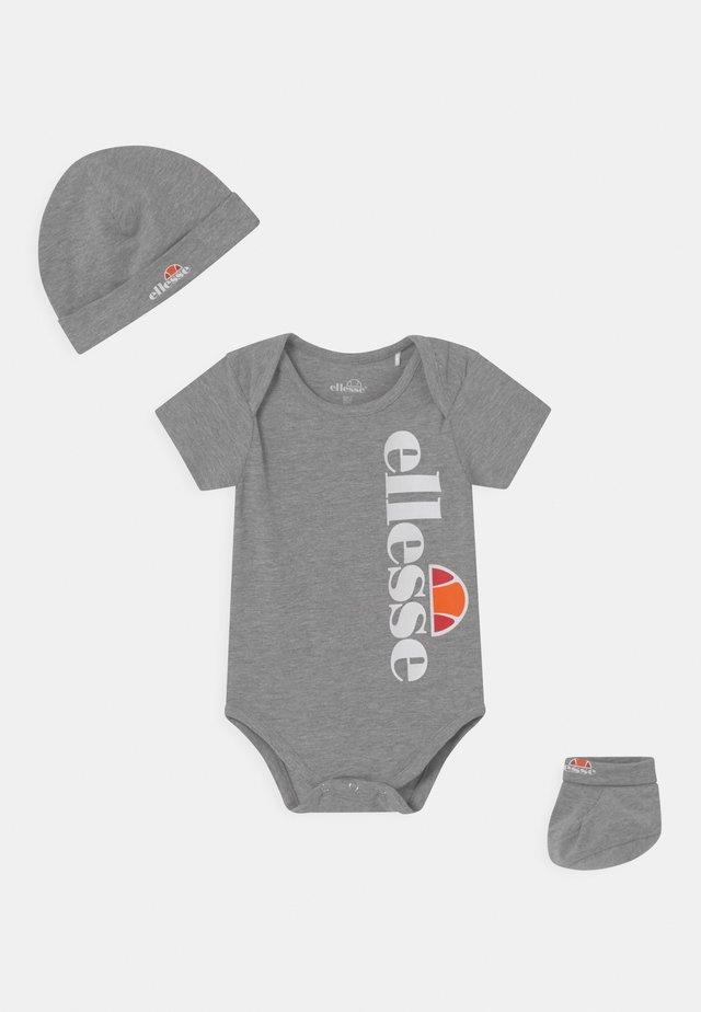 ELEANORI BABY SET UNISEX - Triko spotiskem - grey