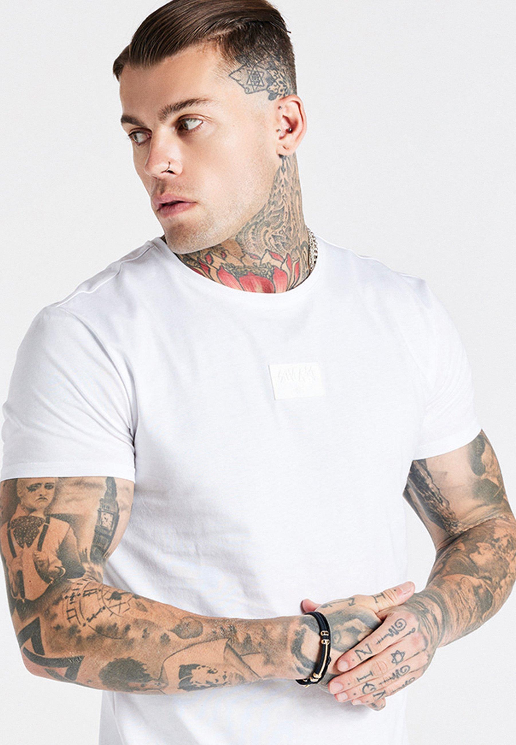 Men AOKI BADGE GYM TEE - Basic T-shirt