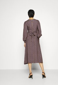 Closet - PUFF SLEEVE A-LINE DRESS - Day dress - purple - 2