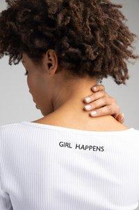 Girl Happens - LIA - Long sleeved top - weiß - 3