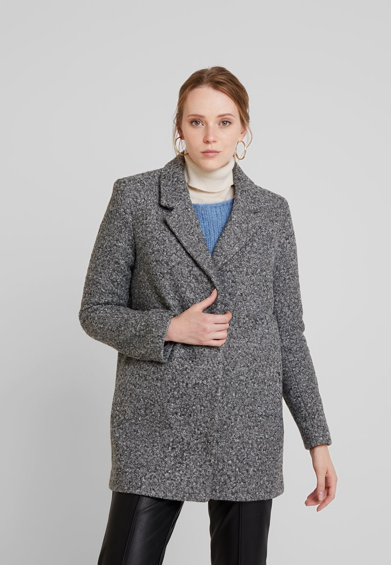 Vila - Manteau classique - medium grey melange