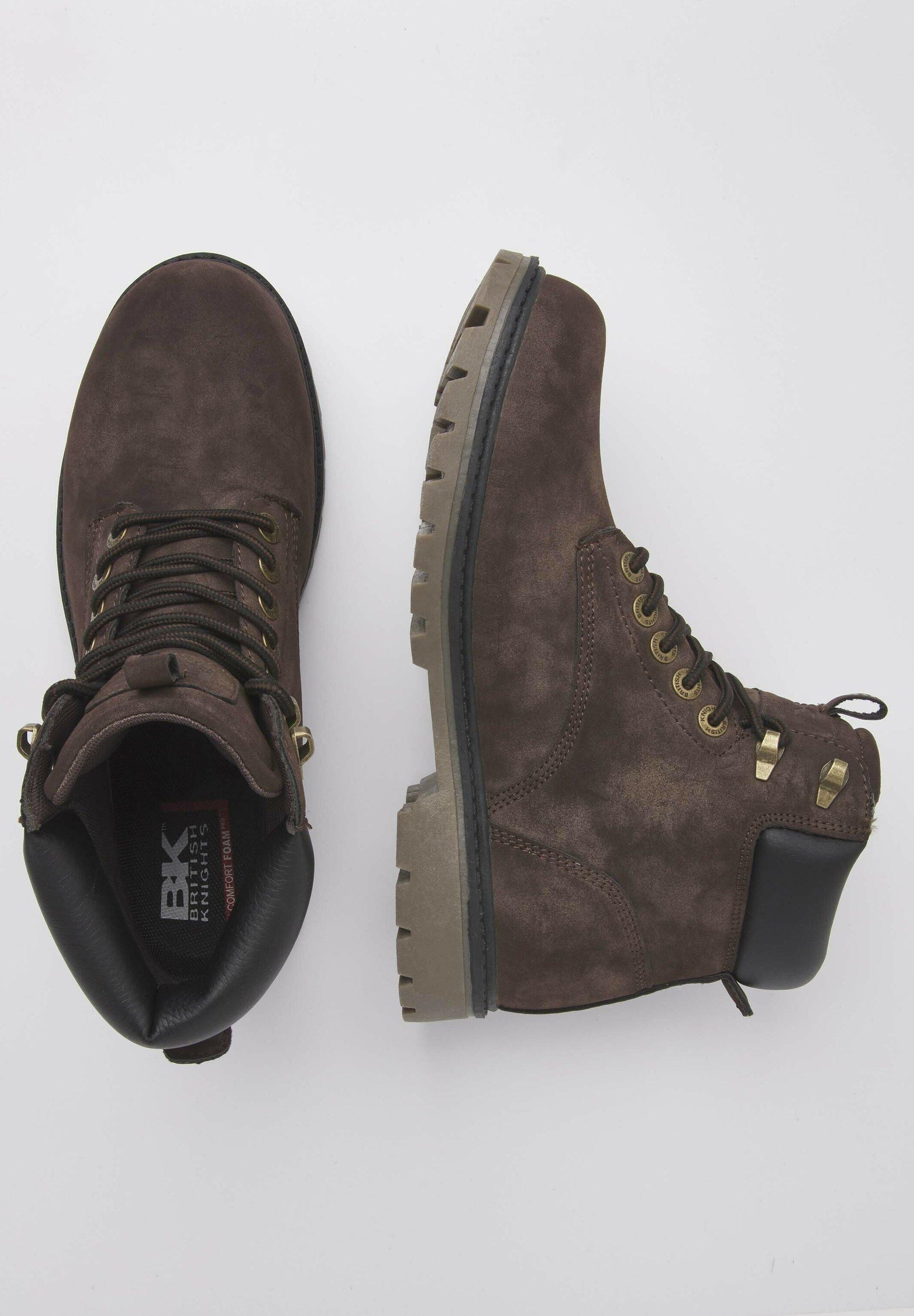 British Knights Sneaker Secco - Ankelstøvler Dk Brown/black