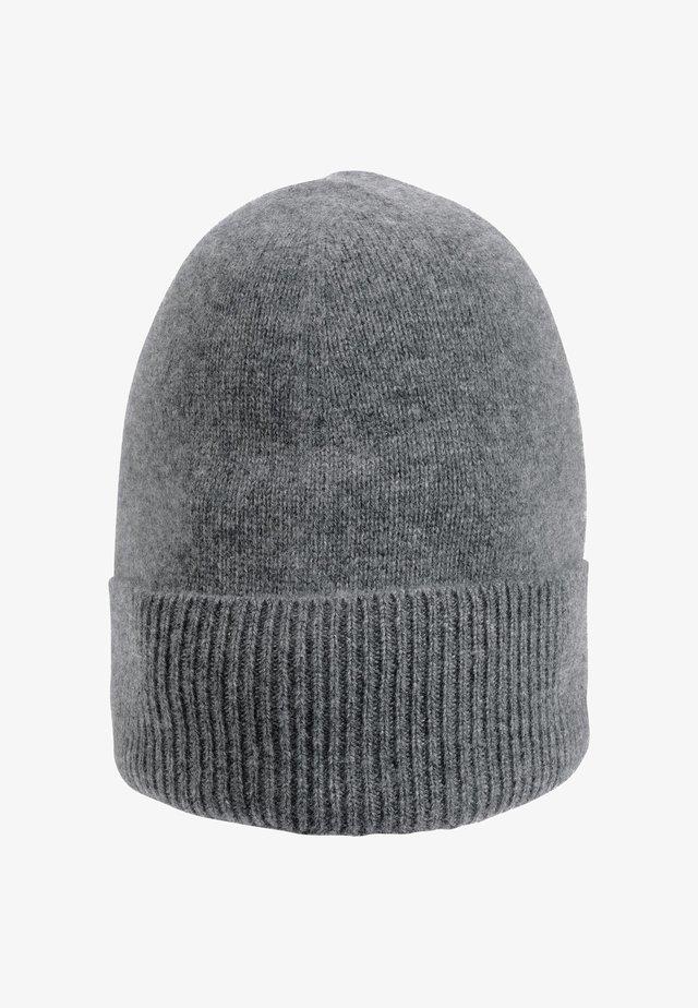 Mütze - middengrijs gemêleerd