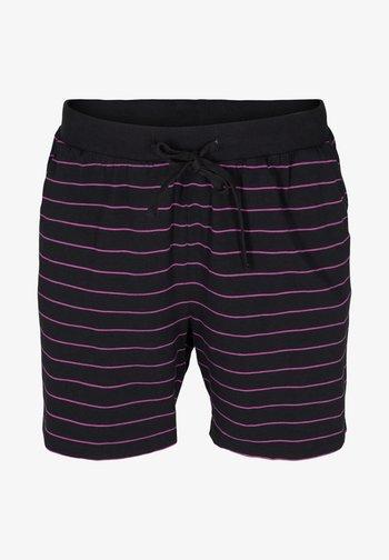 Shorts - black w  purple