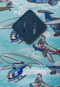 Fabrizio - MINI KIDS SET BACKPACK + CASE UNISEX - Rucksack - light blue/navy blue - 6