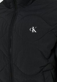 Calvin Klein Jeans - QUILTED JACKET - Light jacket - black - 4
