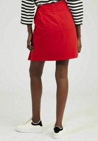 NAF NAF - A-line skirt - red - 2