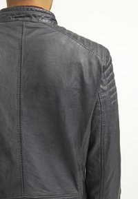 Gipsy - CHESTER - Leather jacket - dunkelgrau - 5