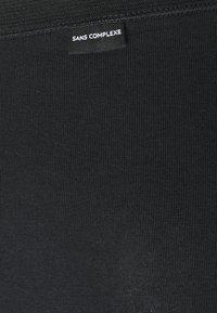 Sans Complexe - SIMPLEMENT CULOTTE TAILLE MEDIUM 3 PACK - Bokserit - noir - 2