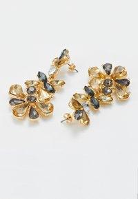 Pieces - PCGREY EARRINGS  - Orecchini - gold-coloured/grey - 2
