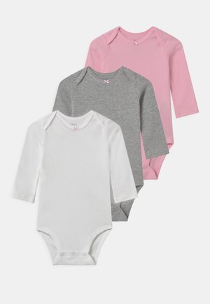 BASIC 3 PACK - Body - light pink/white