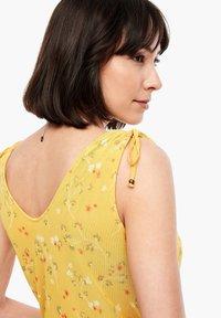 s.Oliver - TOP MIT FLORALEM PRINT - Blouse - yellow aop - 5