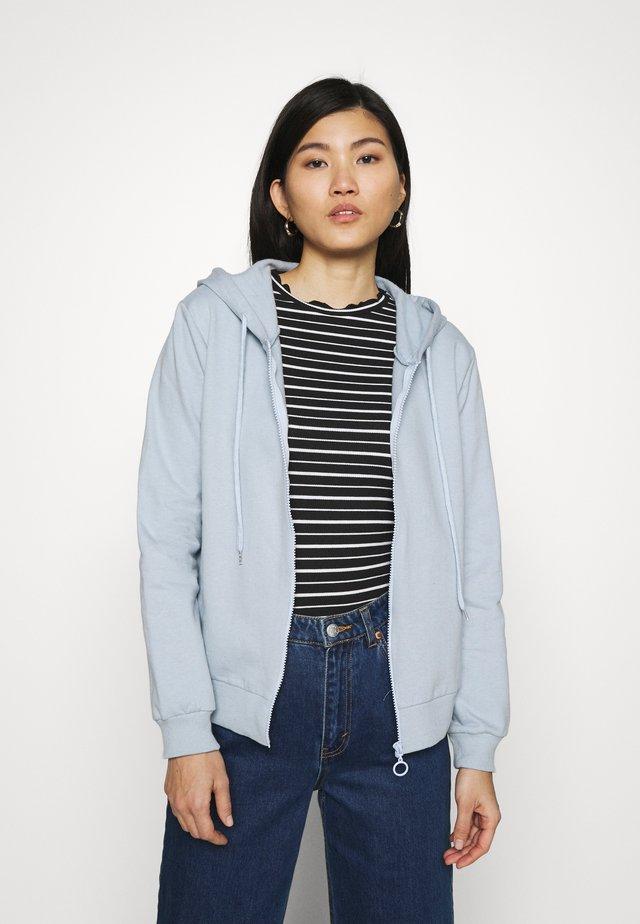 Zip-up hoodie - celestial blue