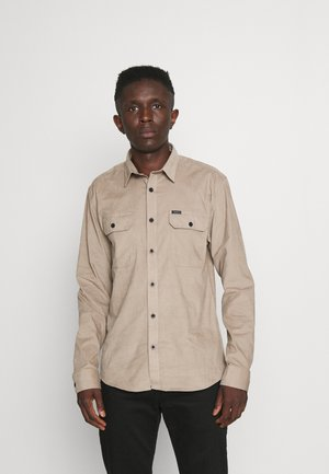 WORKER  SHIRT - Overhemd - dark sand
