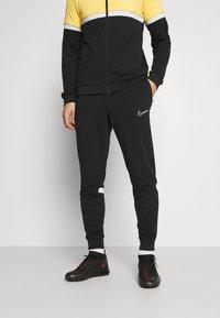 Nike Performance - ACADEMY SUIT - Träningsset - black/saturn gold/white - 3