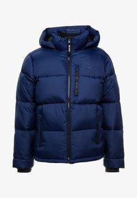 Hollister Co. - PUFFER HOOD  - Winter jacket - navy - 5