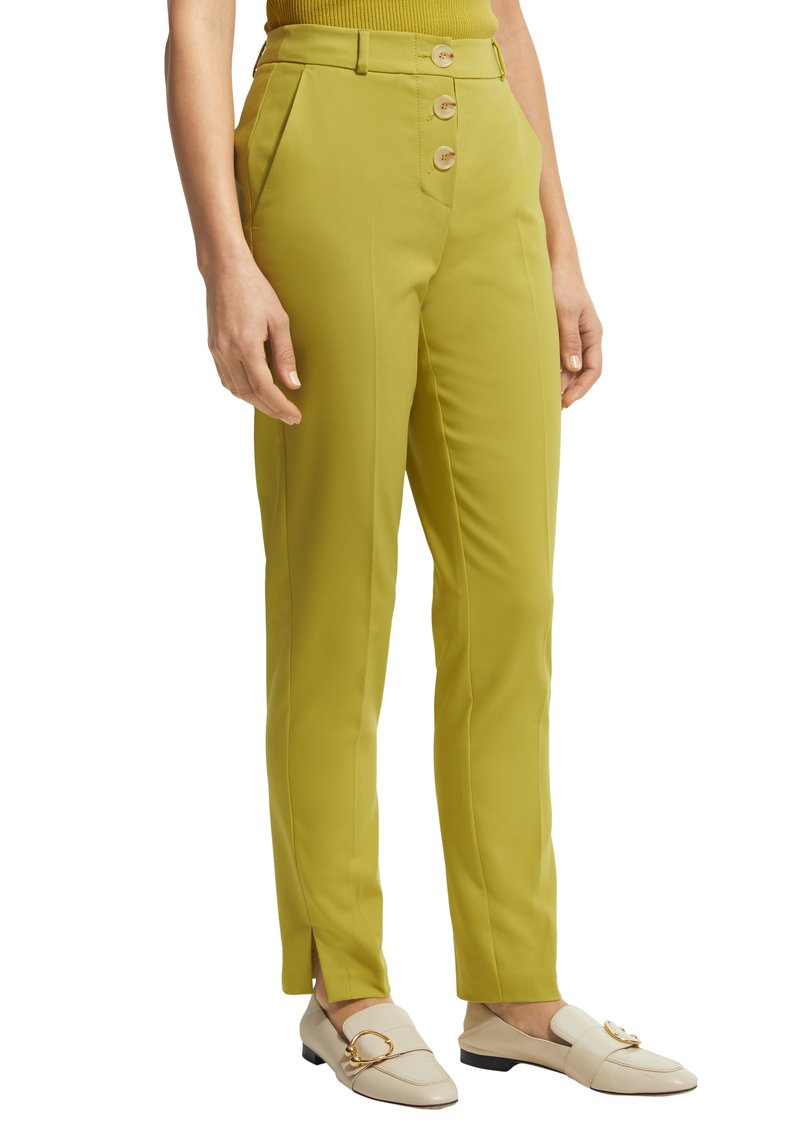 comma - Trousers - green