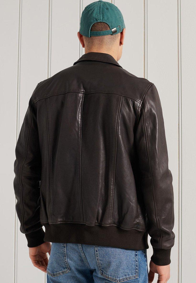Men INDIE CLUB JACKET - Faux leather jacket