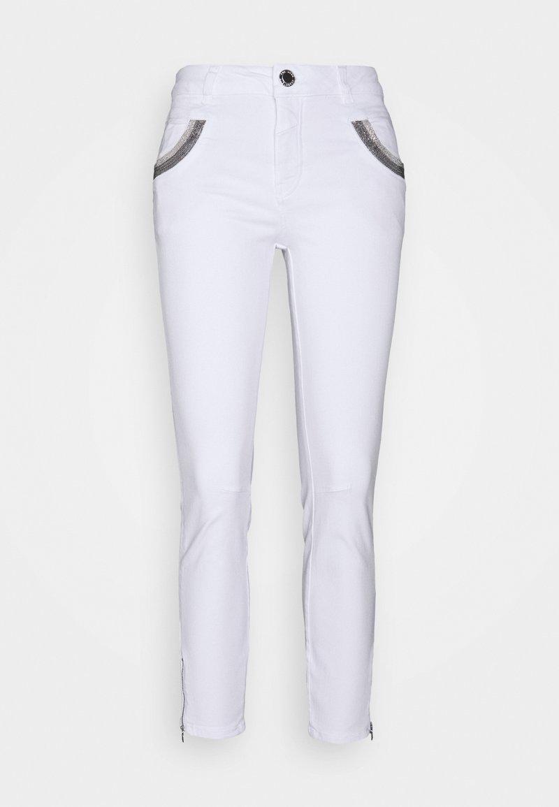 Mos Mosh - SHADE - Slim fit jeans - white