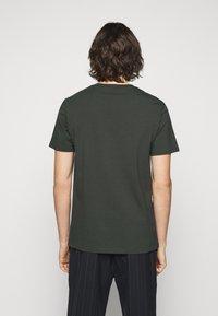 Filippa K - TEE - Basic T-shirt - dark spruce - 2
