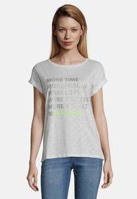 Cartoon - MIT AUFDRUCK - Print T-shirt - weiß/taupe - 0