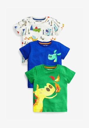 3 PACK  - Print T-shirt - green