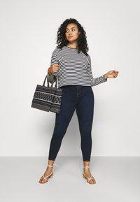 River Island Plus - Jeans Skinny Fit - dark auth - 1