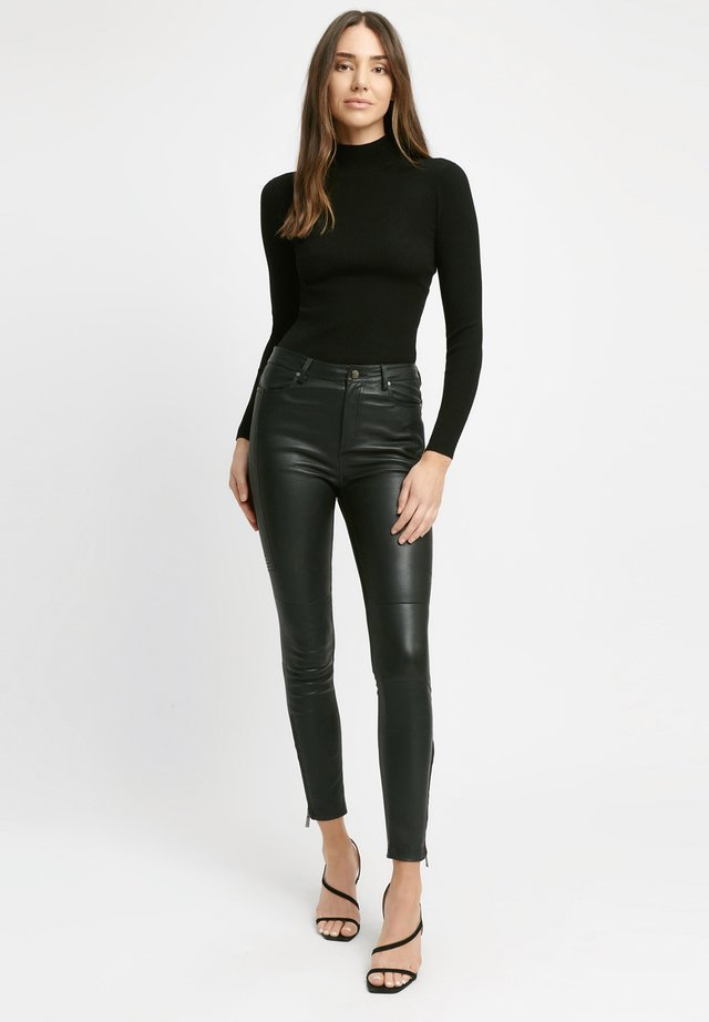 Leather trousers - z2-noir
