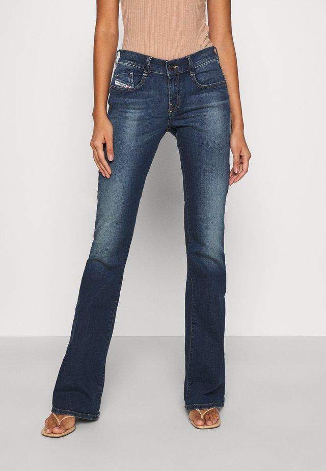 D-EBBEY - Bootcut jeans - indigo