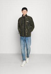Carhartt WIP - BEAUFORT JACKET - Fleece jacket - tree green/grey - 1