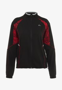 ONLY Play - ONPSIERRA RUN JACKET - Træningsjakker - black/flame scarlet - 6